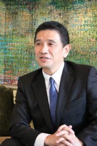 代表の写真