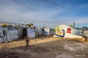 多くのシリア難民が暮らすレバノンのベッカー高原
