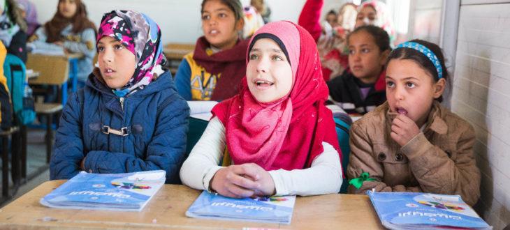 難民であることが理由で教育の機会を奪われないように。教育支援が未来を創る